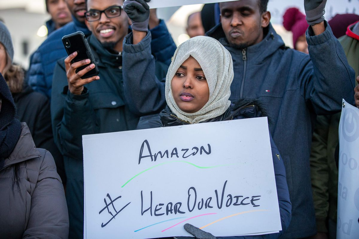 Amazon Hear Our Voice
